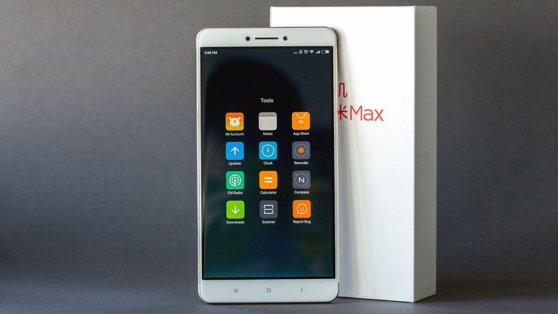 AndroidPIT xiaomi mi max tools