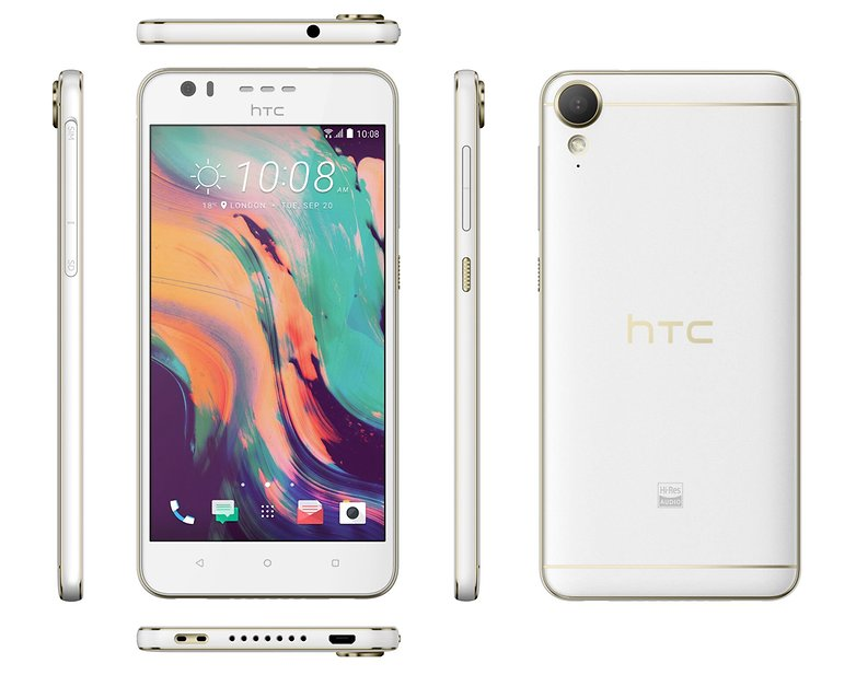 HTC Desire 10 lifestyle white 1