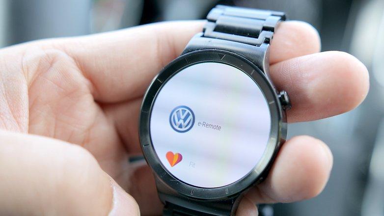 android auto smartwatch vw e remote