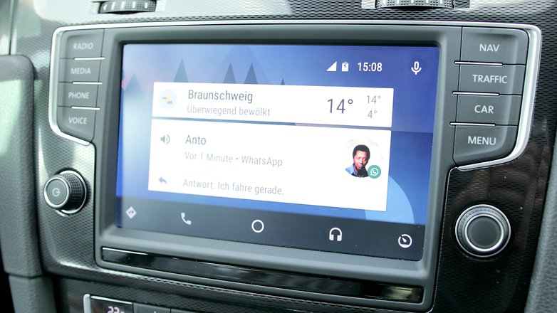 android auto whatsapp
