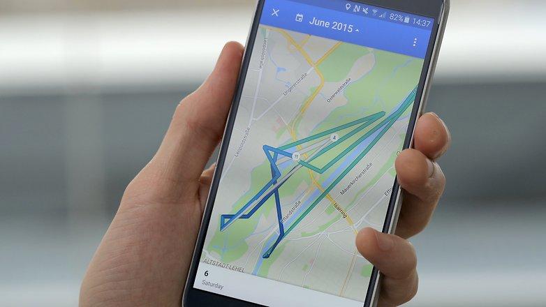 androidpit google maps timeline 1
