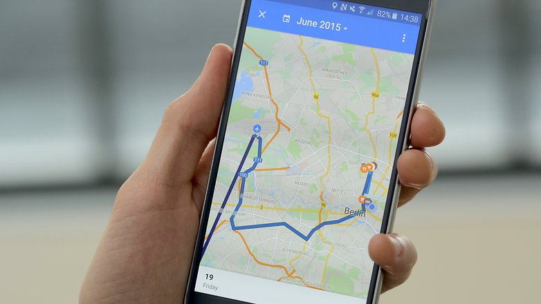 androidpit google maps timeline 2