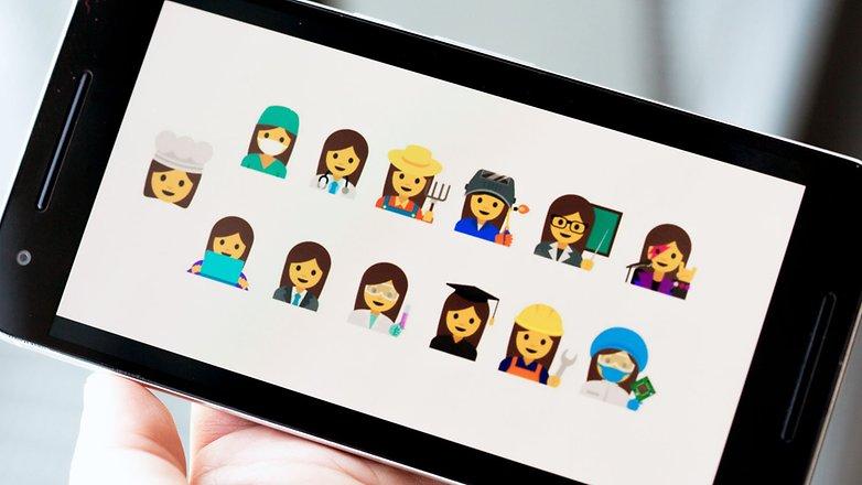 androidpit google new women emoji