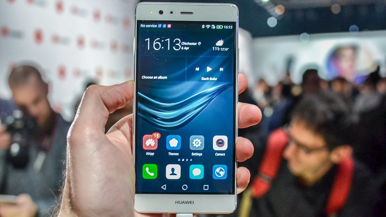 androidpit huawei p9 plus screen