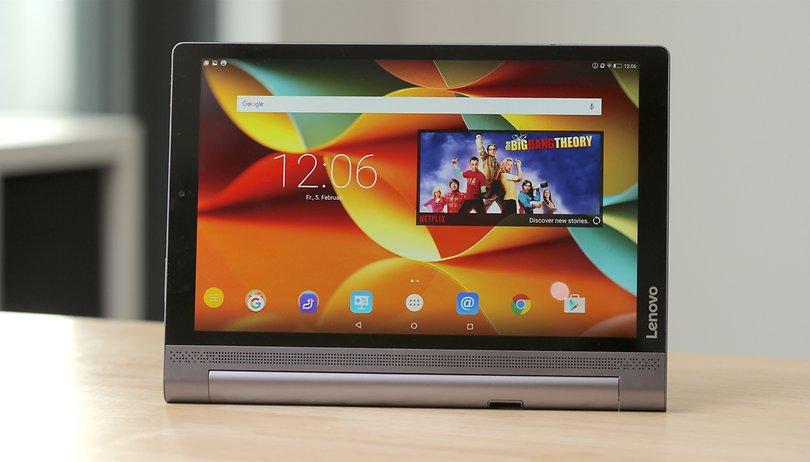 Lenovo Yoga Tab 3 Pro im Test: Das Tablet mit der Standfestigkeit