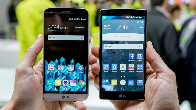 LG G5 vs LG G4 comparison: pure G-force - AndroidPIT