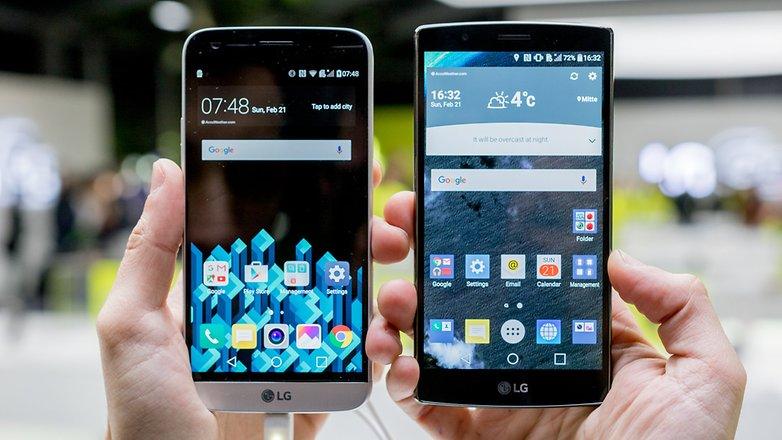 androidpit lg g4 vs lg g5 10