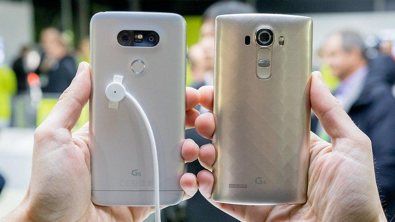 androidpit lg g4 vs lg g5 2