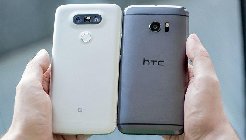 HTC 10 vs LG G5 : un matériel similaire pour un rendu différent