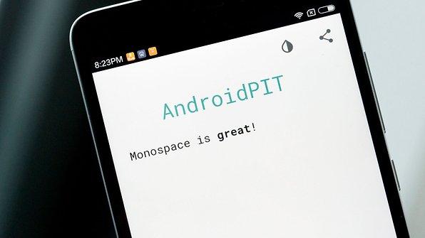 androidpit monospace app