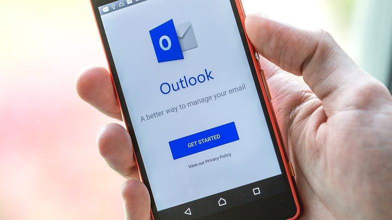 androidpit outlook app
