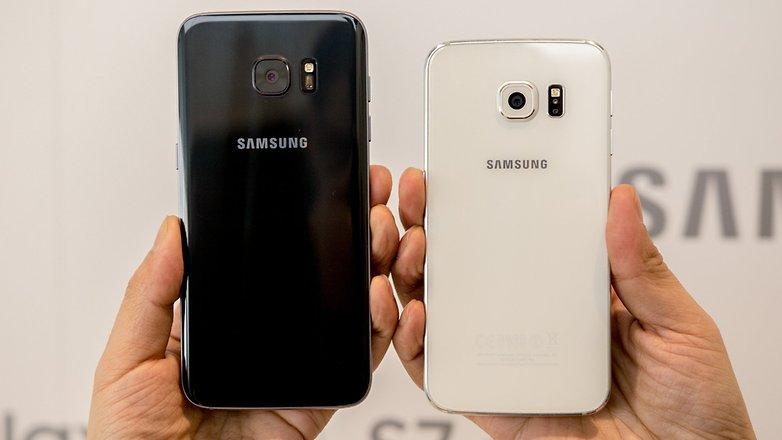 Galaxy S7 Edge Vs. Galaxy S6 Edge: A Evolução Das Bordas