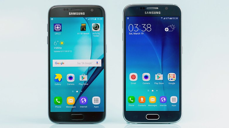 androidpit samsung galaxy s6 vs samsung galaxy s7 1 new