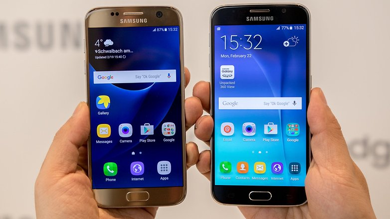 androidpit samsung galaxy s6 vs samsung galaxy s7 1