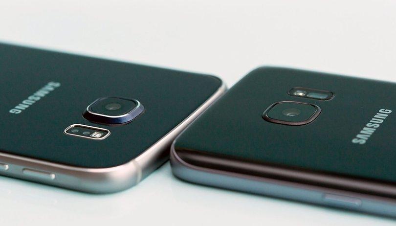 Samsung Galaxy S7 Sd Karte.Samsung Galaxy S6 Und Galaxy S7 Im Vergleich Ein Un Gleiches Paar