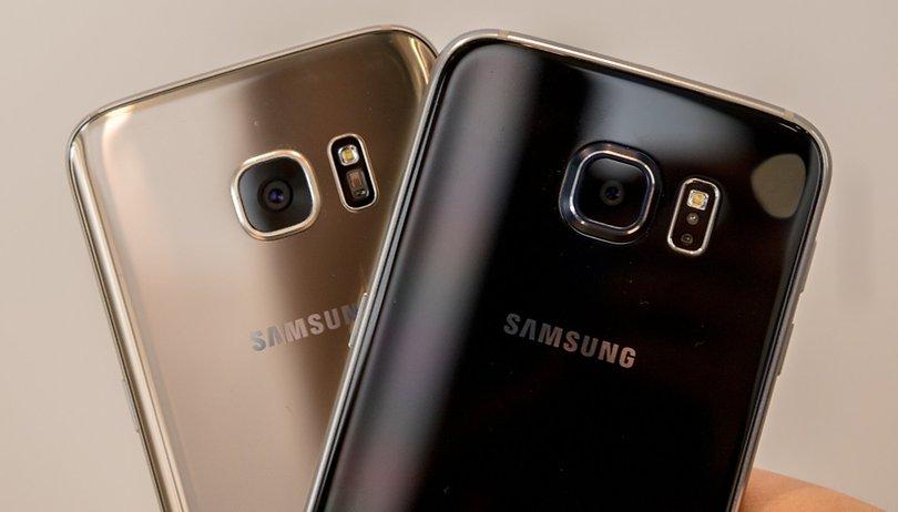 Samsung Galaxy S6 vs Galaxy S7: foto-confronto tra generazioni