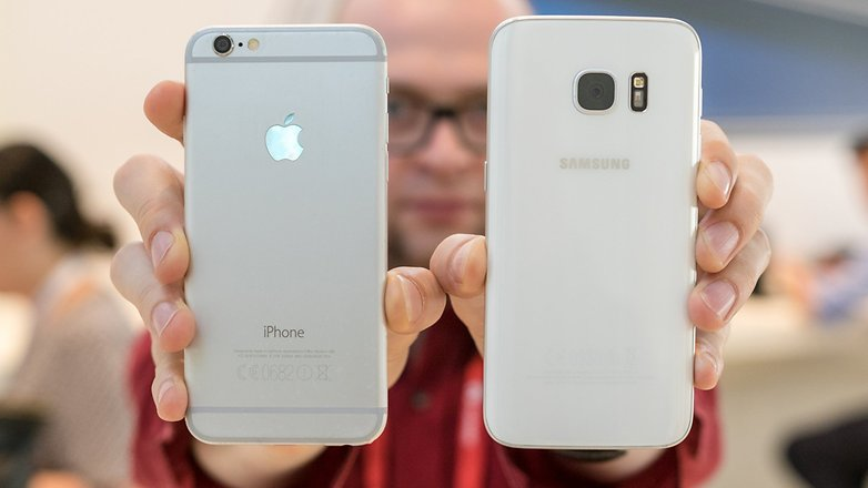 iphone s6 vs samsung galaxy s7