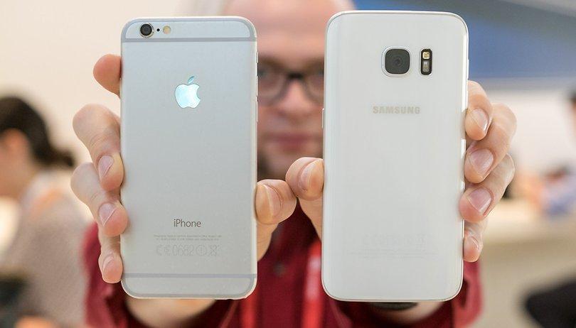 Samsung Galaxy S7 vs iPhone 6s: ¿Cuál mejora más a su antecesor?