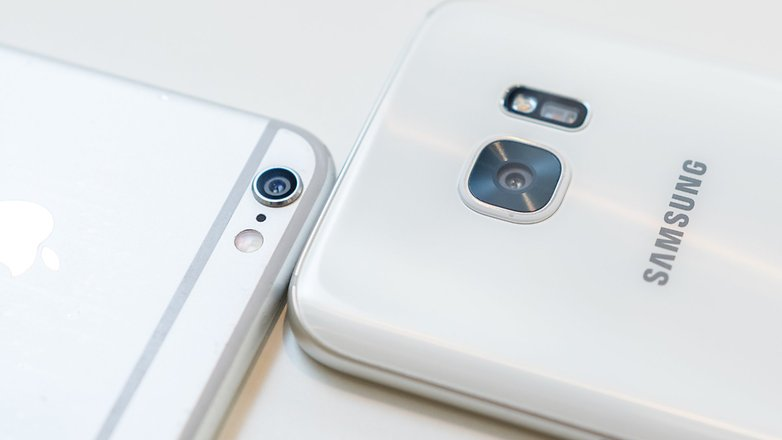 androidpit samsung galaxy s7 vs apple iphone 6 7