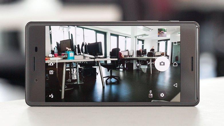 androidpit sony xperia x camera menu