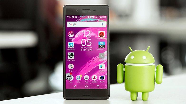 androidpit sony xperia x hero