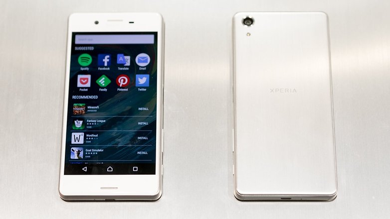 androidpit sony xperia x performance 3