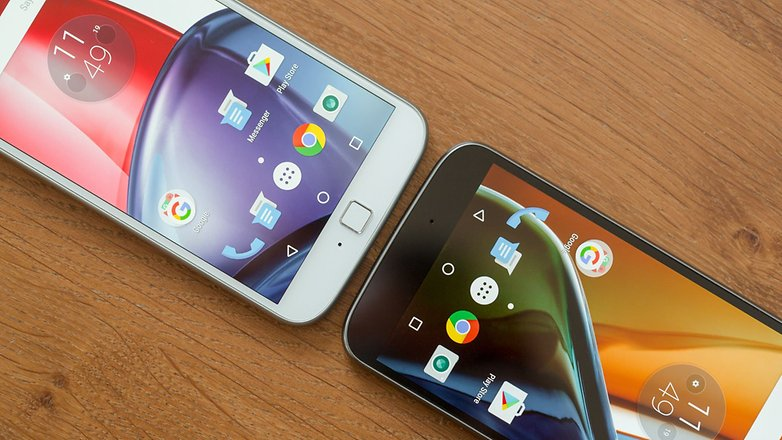 anroidpit moto g4 vs moto g4 fingerprint scanner