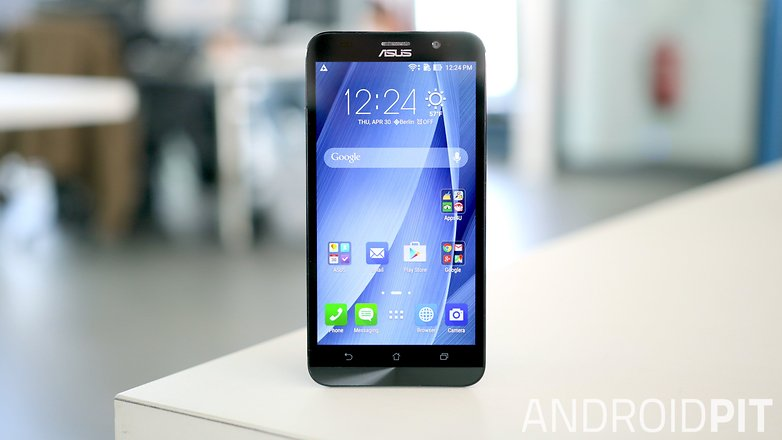 asus zenfone 2 front display screen