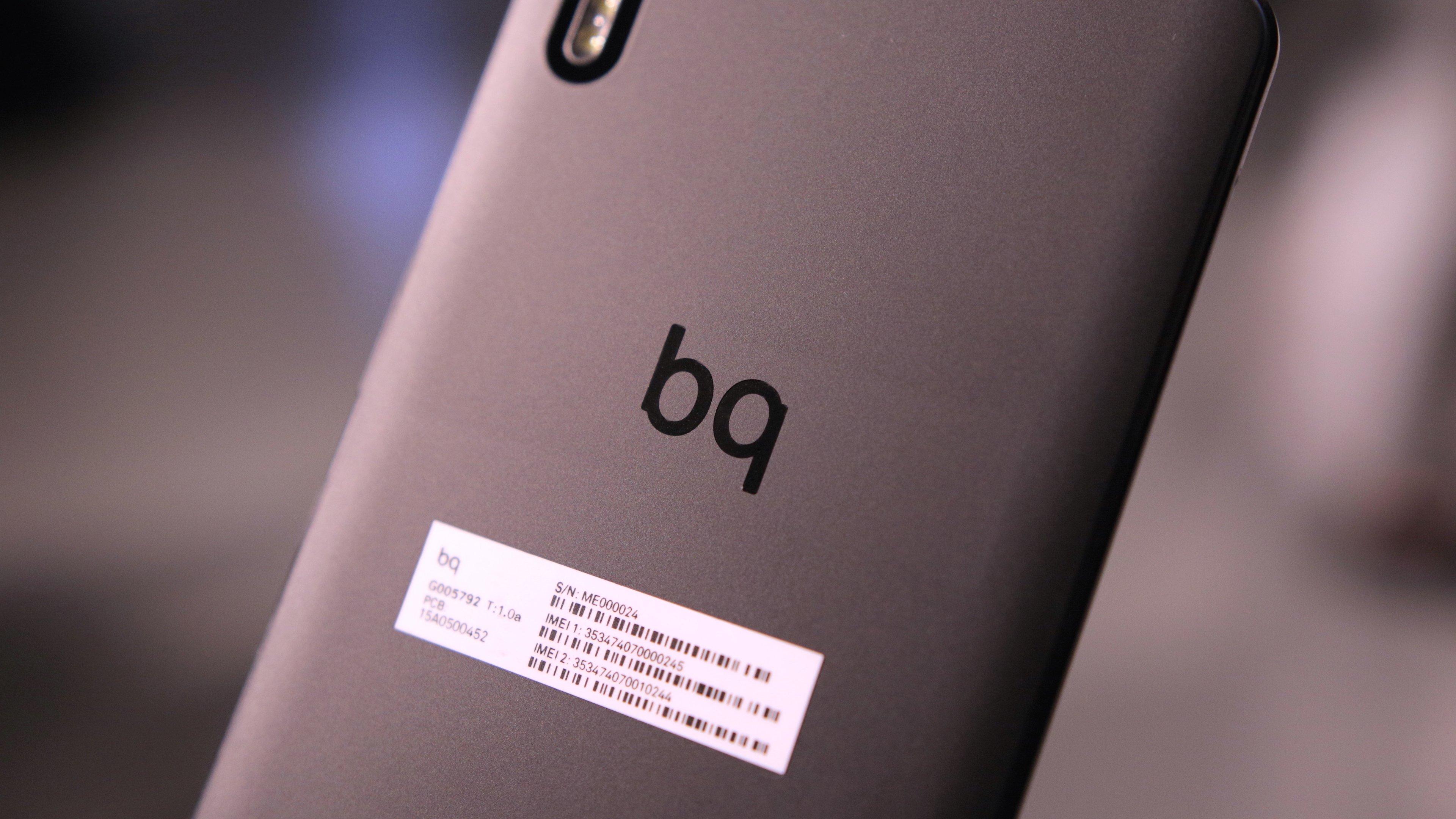 spanisches unternehmen bq stellt g nstiges smartphone und. Black Bedroom Furniture Sets. Home Design Ideas