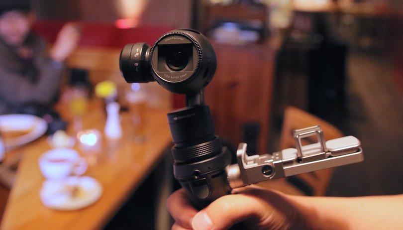 DJI Osmo im Hands-on: Erste Actioncam vom Drohnen-Hersteller