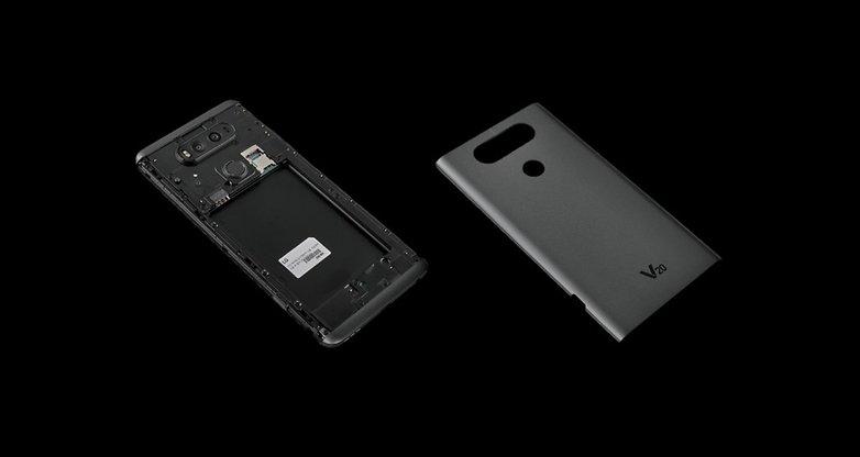 gsmarena lg v20 battery