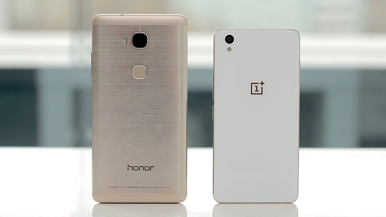 honor 5x vs oneplus x 2