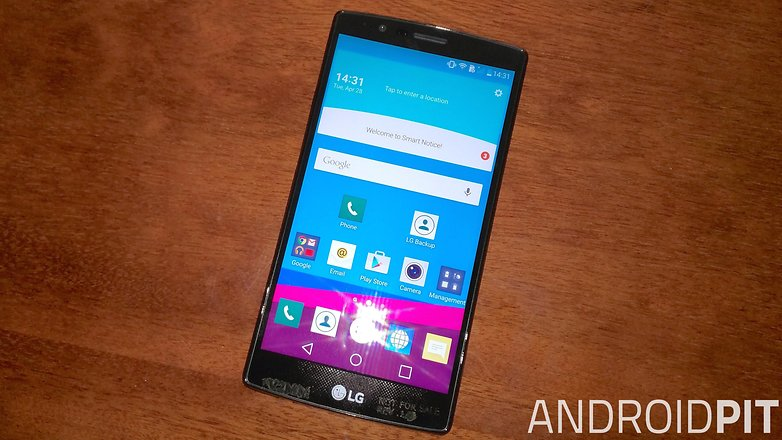 lg g4 front display