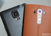 Samsung Galaxy Note 4 vs. LG G4: Kampf der Ledernacken