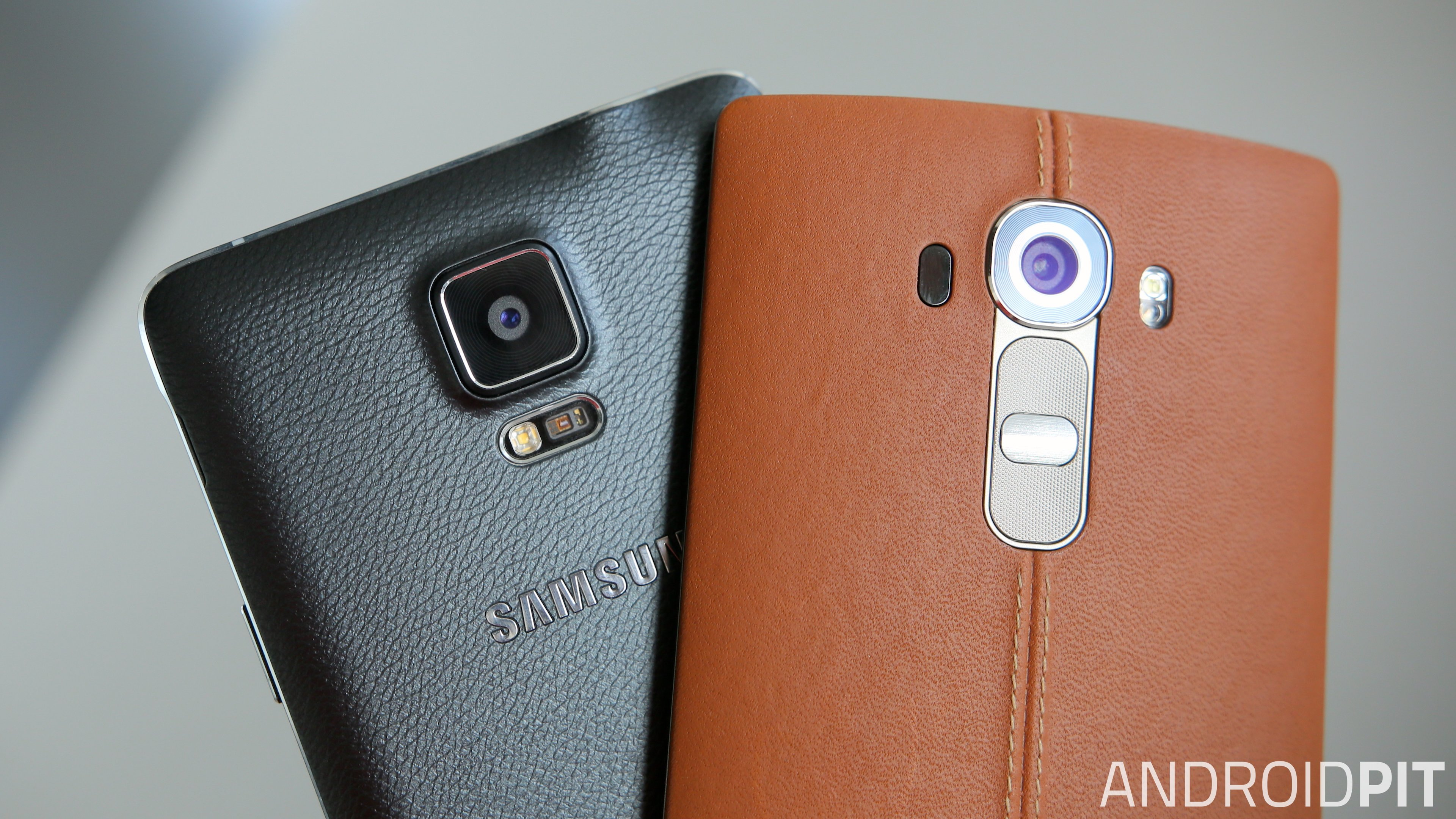 competitive price d6078 8eeff Galaxy Note 4 vs LG G4 comparison: friend or faux? | AndroidPIT