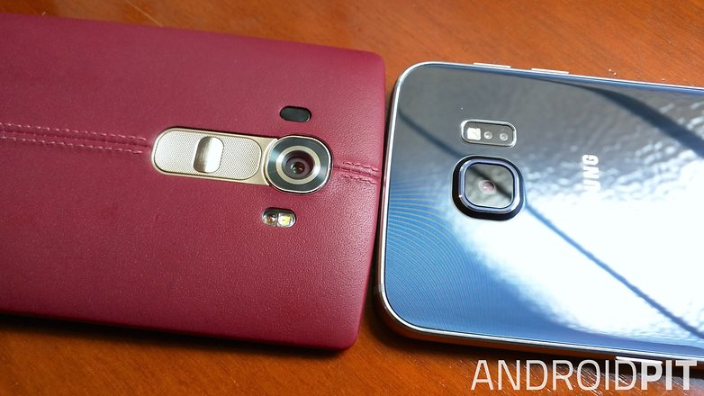 lg g4 samsung galaxy s6 edge back camera 2