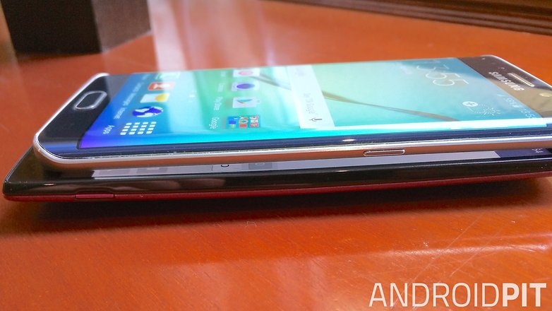 lg g4 samsung galaxy s6 edge side