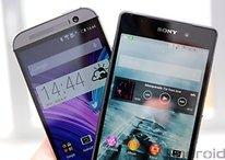 Comparatif : Sony Xperia Z2 vs HTC One (M8)