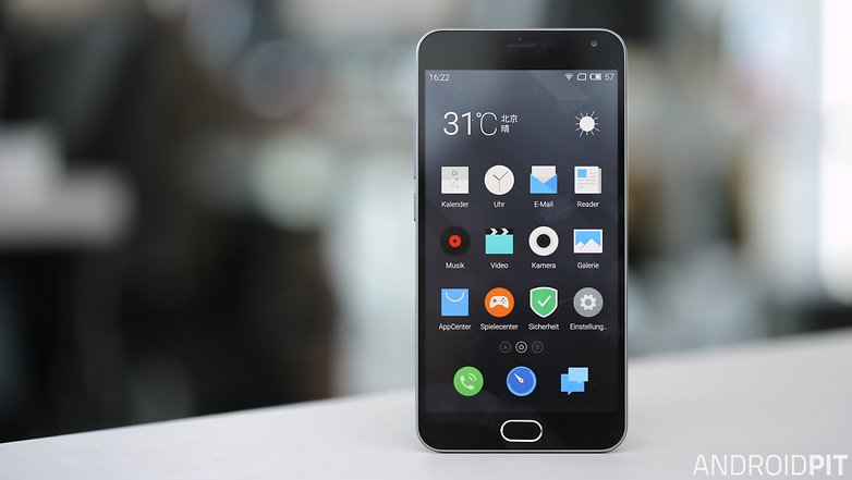meizu m2 note display screen front