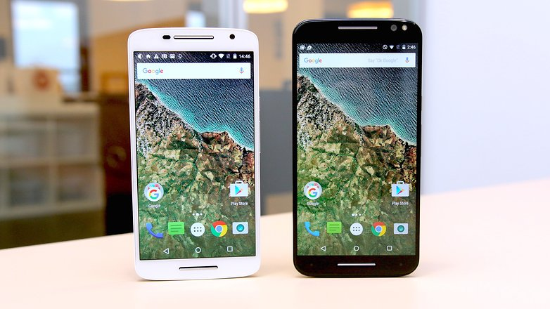 moto x play vs moto x sytle screen