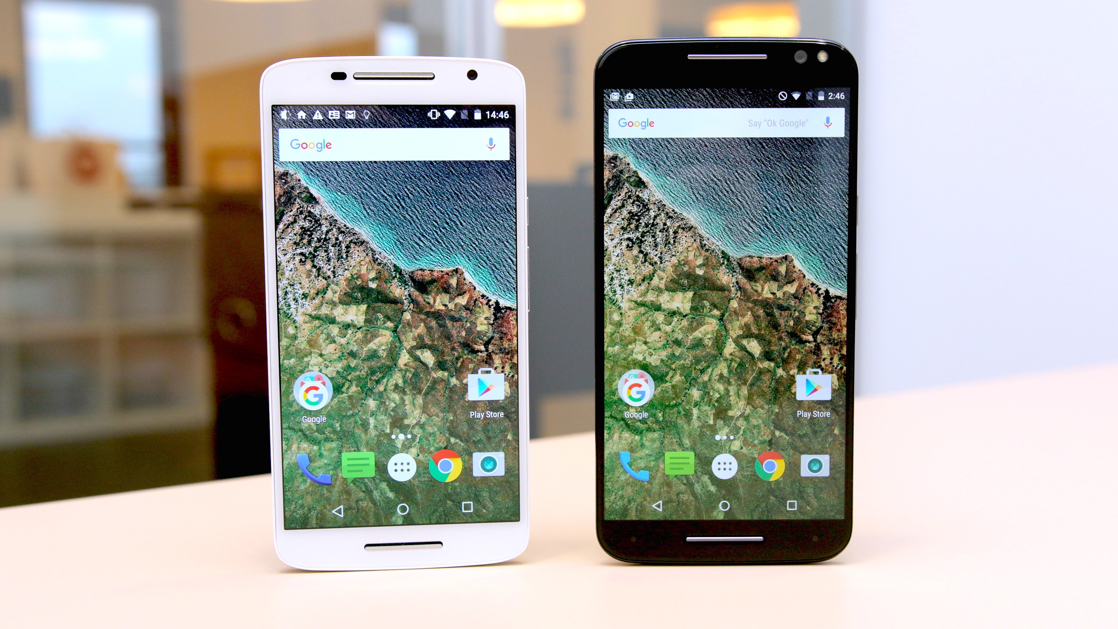 Moto X Pure Edition vs Moto X Play comparison which X is the best? ,  AndroidPIT