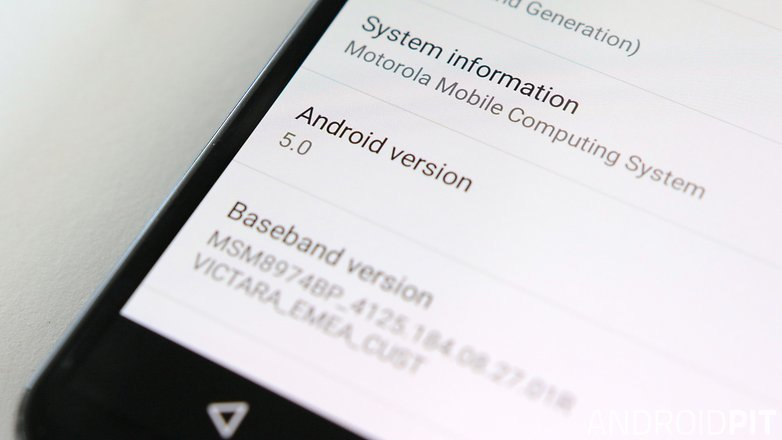 motorola moto x android lollipop