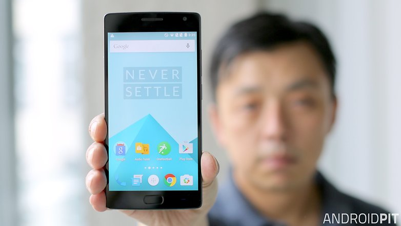 oneplus 2 front screen display
