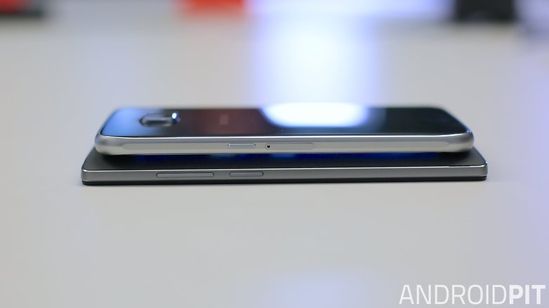 oneplus 2 vs galaxy s6 side 1