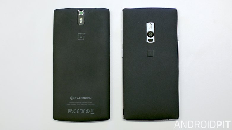 oneplus 2 vs oneplus 1 back