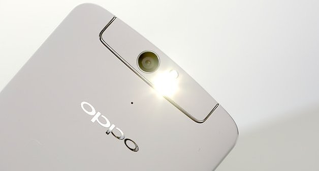 oppo n1 unboxing flash light