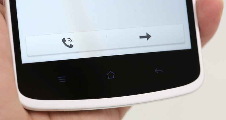 oppo n1 unboxing screen buttons