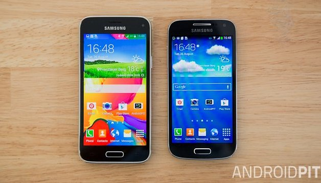 Comparación del Samsung S4 Mini vs Samsung S5 Mini