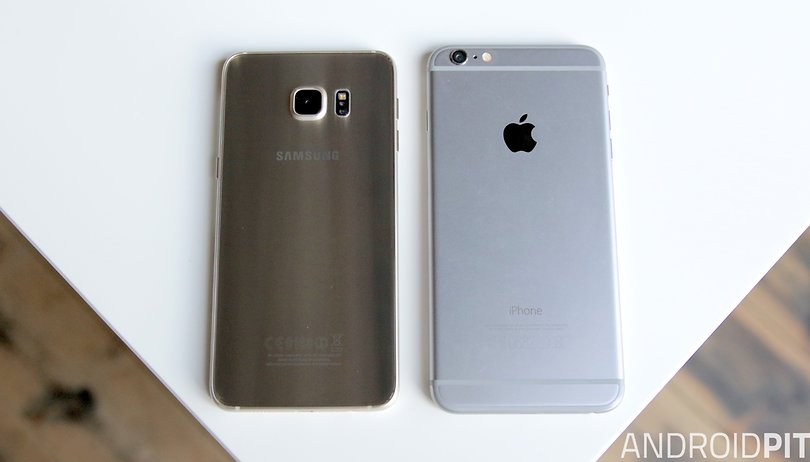 Apple iPhone 6S Plus vs. Samsung Galaxy S6 Edge+: 3D Touch vs. Dual-Edge