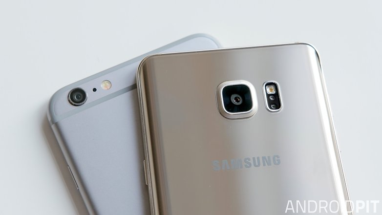 samsung galaxy note 5 iphone 6 plus camera